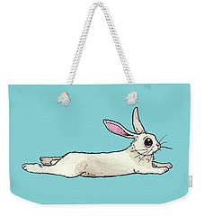Little Bunny Rabbit Weekender Tote Bag by Katrina Davis
