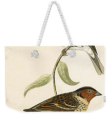 Little Bunting Weekender Tote Bag by English School