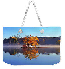 Little Cedar Lake Weekender Tote Bag by Phil Koch