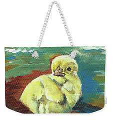 Little Chick - Baby Chicken Weekender Tote Bag
