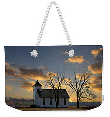 Little Church On The Prairie Weekender Tote Bag