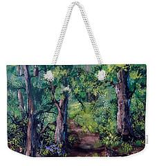 Little Clearing Weekender Tote Bag by Megan Walsh