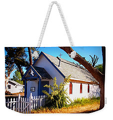 Weekender Tote Bag featuring the photograph Little Country Church by Glenn McCarthy Art and Photography