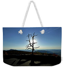 Weekender Tote Bag featuring the photograph Little Devil Stairs Overlook by Robert Geary
