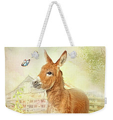 Little Donkey Weekender Tote Bag by Trudi Simmonds