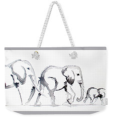 Little Elephant Family Weekender Tote Bag