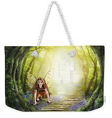Little Fairy In The Woods Weekender Tote Bag