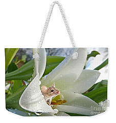 Little Field Mouse Weekender Tote Bag