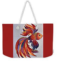 Little Fish Weekender Tote Bag by Megan Walsh