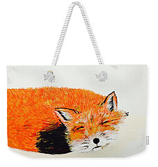 Little Fox Weekender Tote Bag