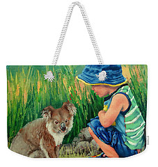 Little Friends Weekender Tote Bag by Margaret Stockdale