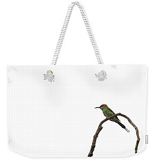 Little Green Bee Eater  Merops Orientalis  Weekender Tote Bag
