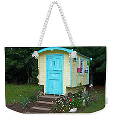 Little Gypsy Wagon II Weekender Tote Bag by Judy Johnson