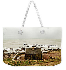 Little House At The Nigg Bay. Weekender Tote Bag