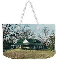 Weekender Tote Bag featuring the photograph Little House On The Prairie by Kim Hojnacki