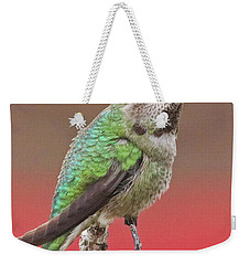 Little Hummer Weekender Tote Bag