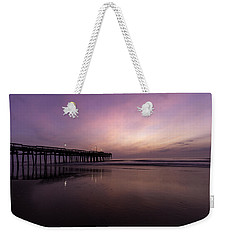 Little Island Sunrise Weekender Tote Bag