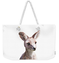 Little Kangaroo Weekender Tote Bag by Amy Hamilton