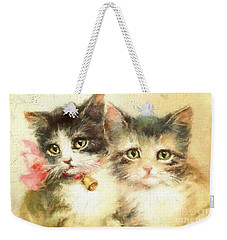 Little Kittens Weekender Tote Bag