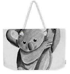 Little Koala On A Tree Weekender Tote Bag