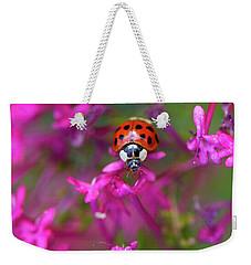 Little Lady Weekender Tote Bag by Shelley Neff