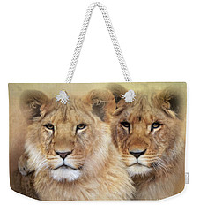 Little Lions Weekender Tote Bag by Trudi Simmonds