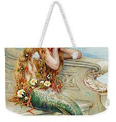 Little Mermaid Weekender Tote Bag by E S Hardy