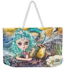 Little Mermaid Weekender Tote Bag