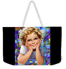Little Miss Shirley Weekender Tote Bag