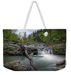 Little Missouri Falls 3 Weekender Tote Bag