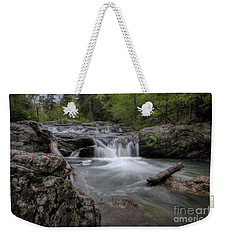 Little Missouri Falls Weekender Tote Bag