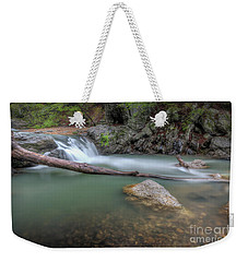Little Missouri Falls 2 Weekender Tote Bag