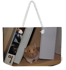 Little Missy Is Watching Weekender Tote Bag