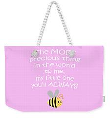 Little One Pink Weekender Tote Bag