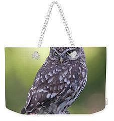 Little Owl Pipe Bender Weekender Tote Bag