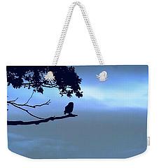 Little Owl Watching Weekender Tote Bag