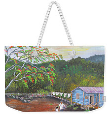 Little Paradise Weekender Tote Bag