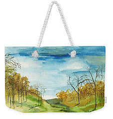 Little Path Weekender Tote Bag