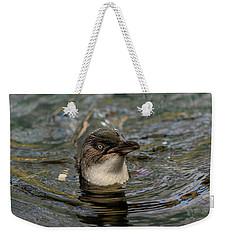 Little Penguin In The Water Weekender Tote Bag