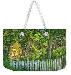 Little Picket Fence Weekender Tote Bag