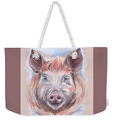 Little Pig Weekender Tote Bag