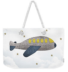 Little Plane Weekender Tote Bag by Samuel Whitton