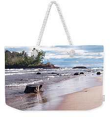 Little Presque Isle Weekender Tote Bag