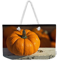 Little Pumpkin Weekender Tote Bag by Joseph Skompski
