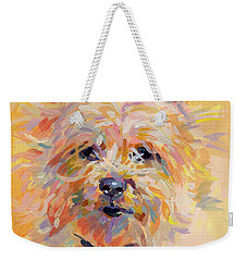 Little Ray Of Sunshine Weekender Tote Bag by Kimberly Santini