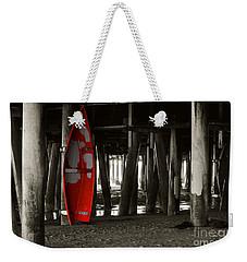 Little Red Boat IIi Weekender Tote Bag