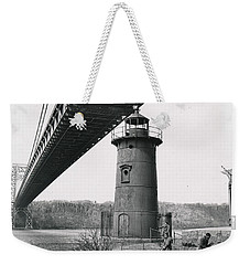 Little Red Lighthouse, 1961 Weekender Tote Bag by Cole Thompson