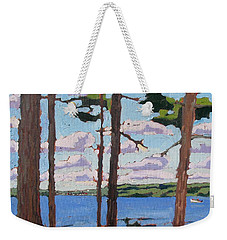 Little Rideau Lake Weekender Tote Bag