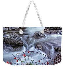 Little River Columbines Weekender Tote Bag