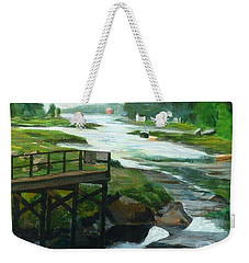 Little River Gloucester Study Weekender Tote Bag